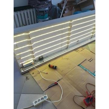 Kaseton, baner LED 300x70x15cm ; szt.3