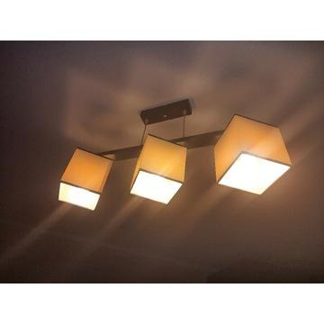 Komplet w super cenie: Lampa sufitowa i stojąca