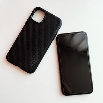 Apple Iphone 11 64GB czarny + obudowa + szkło