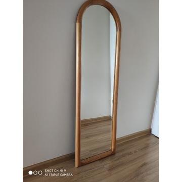 Lustro, rama sosnowa, 125cm x 39,5cm