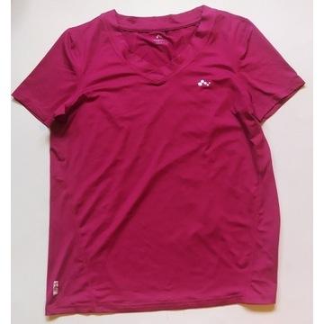 ONLY PLAY malinowa koszulka sportowa S/M