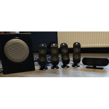 Głośniki komputerowe Logitech 5+1