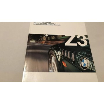 Prospekt BMW Z3
