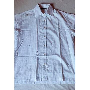 Addictive koszula biała krata lekka L/40/42