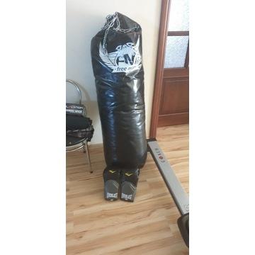 Worek bokserski z rękawicami bokserskimi venom
