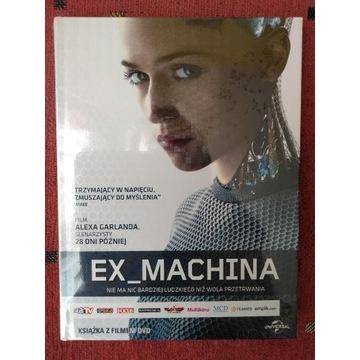 Ex Machina DVD nowe folia OKAZJA!