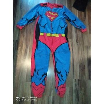 Strój polarowy Piżama SUPERMAN r. M/L