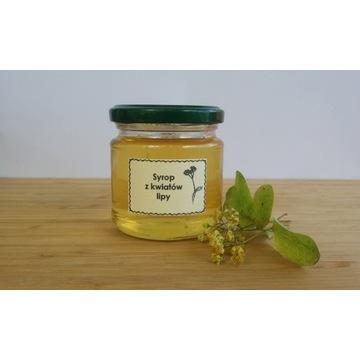 Syrop z kwiatów lipy 100% naturalny ekologiczny