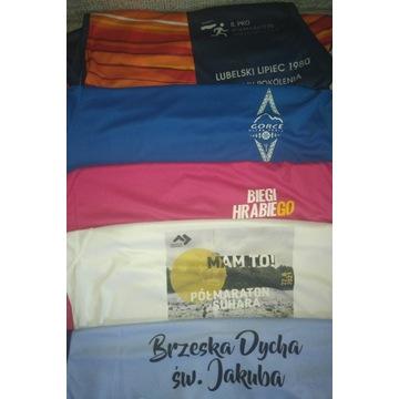 Koszulki z zawodów sportowe NOWE