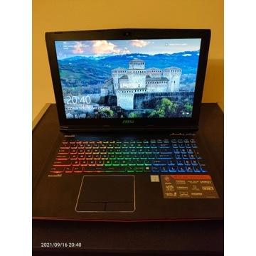 Laptop MSI GE62 6QD Apache Pro