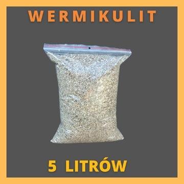 Wermikulit średni ogrodniczy 5 L do ukorzeniania