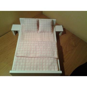 Łóżko łóżeczko podwójne dla lalek do 30cm