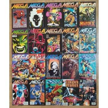 20 komiksów Mega Marvel TMSemic 1993-1999 komplet