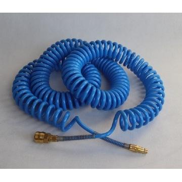 Wąż pneumatyczny, spiralny 10m, 8x5