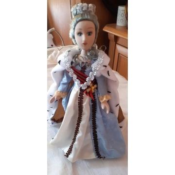 Lalka z porcelany. Królowa