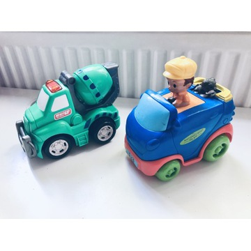 Samochód auto naciśnij i jedź +gratis betoniarka