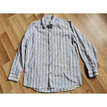 Lacoste koszula paski L