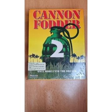 AMIGA CANNON FODDER 2 BOX NOWY