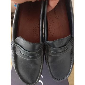 Buty chłopięce ZARA 34 skórzane