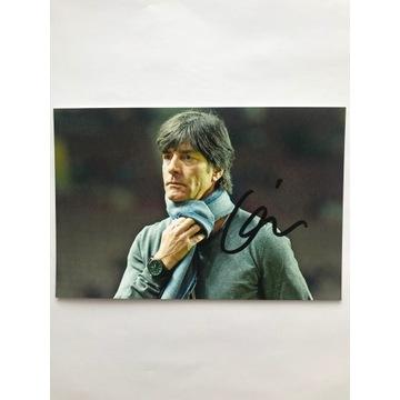 Oryginalny autograf Joachima Löwa!