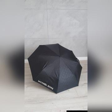 Parasol MK Michael Kors nowa metka LOGO czarny
