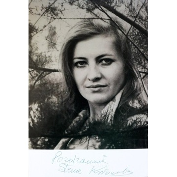 STENIA KOZŁOWSKA - autograf