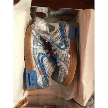 nike rubber dunk x off white 36,5EU 4,5US
