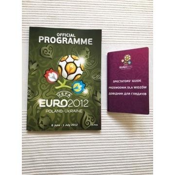EURO 2012 Official Programme + Przewodnik Kibica