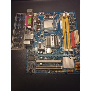 Płyta główna Gigabyte GA-945GCM-S2L Q6600 DDR2