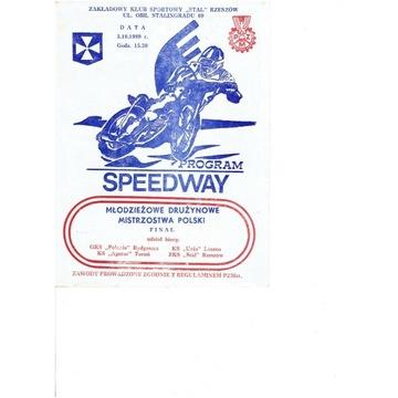 Finał MDMP 1989 r Rzeszów