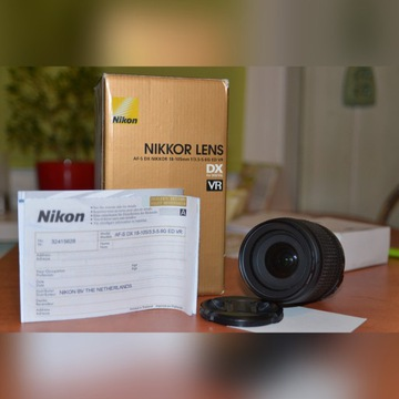 OBIEKTYW NIKON AF-S DX18-105/3,5-5,6 G ED VR