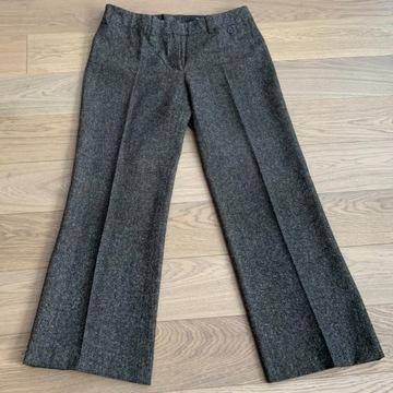 Spodnie TWEED brązowe R/ 42