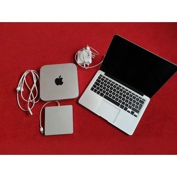 MacBook Pro 8/128 i5, Mac Mini 8/1TB i5