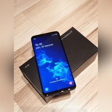 Samsung Galaxy S9 IDEALNY Coral Blue