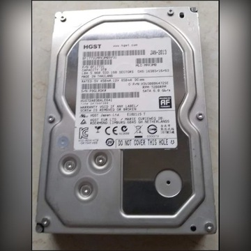"Dysk 3.5"" - HGST Hitachi - Sata III 6 Gb/s - 3TB"