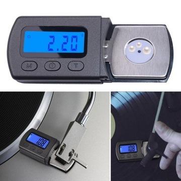 Cyfrowa waga gramofonowa do kalibracji wkładki