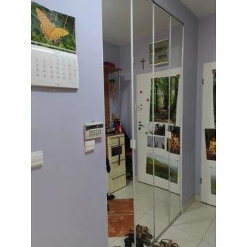 Drzwi łamane lustro