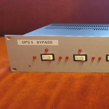 UPS ByPass dla 5 zasilaczy UPS, rack 19 cali