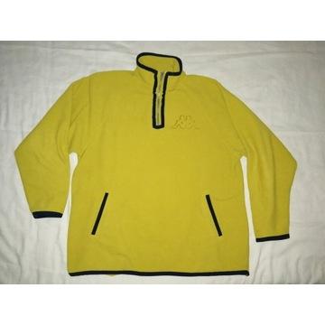 KAPPA ciepła bluza fleece polar XL 2XL stan bdb