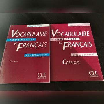 Vocabulaire progressif du francais + Corriges