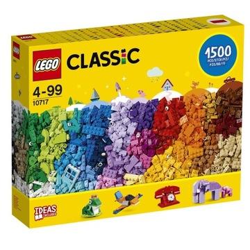 LEGO CLASSIC 10717 DUŻY ZESTAW 1500 SZT Nowy