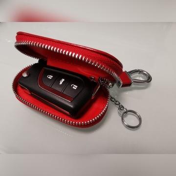 Skórzane etui na kluczyk samochodowy