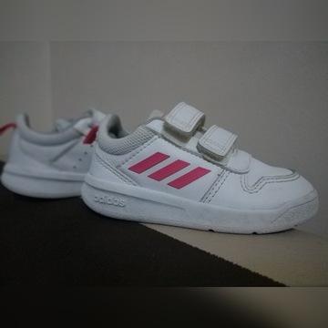 Buty sportowe adidas 23 białe dziewczęce adidasy