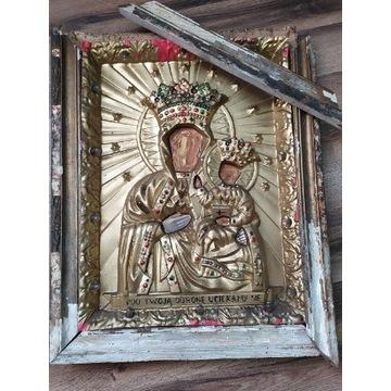 Stary obraz Maryji z Dzieciątkiem