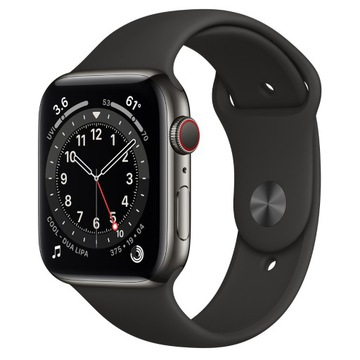 Apple Watch 6 44mm Stainless Black