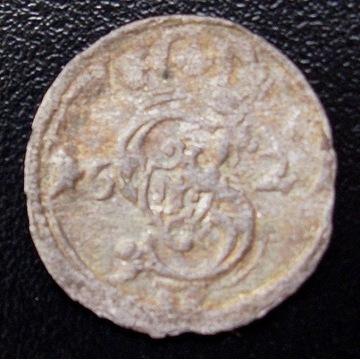 DWUDENAR LIT.=1621=ZYGMUNT III WAZA-WILNO=SREBRO