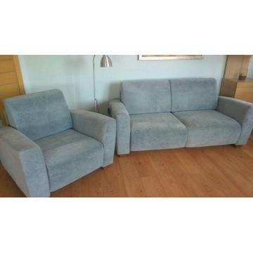 Komplet wypoczynkowy (sofa, dwa fotele)