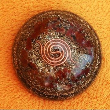 Orgonit Półkula, Cewka mała, Jaspis, odpromiennik