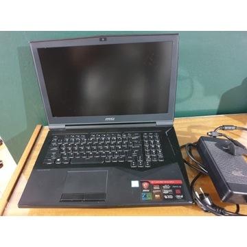 MSI GT75VR 7RF Titan PRO 64GB Intel i7-7700HQ