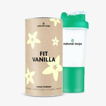 Zestaw Fit Vanilla plus szejker Natural Mojo